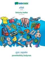 BABADADA, Hindi (in devanagari script) - lietuviu kalba, visual dictionary (in devanagari script) - paveiksleliu zodynas