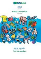 BABADADA, Hindi (in devanagari script) - Bahasa Indonesia, visual dictionary (in devanagari script) - kamus gambar