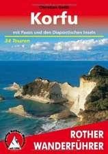 Korfu mit Paxos und den Diapontischen Inseln