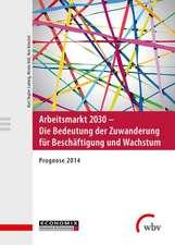Arbeitsmarkt 2030 - Die Bedeutung der Zuwanderung für Beschäftigung und Wachstum