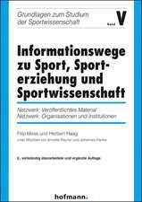 Informationswege zu Sport, Sporterziehung und Sportwissenschaft