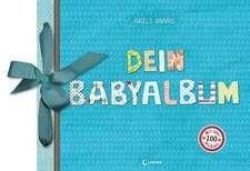 Dein Babyalbum (Junge - blau)