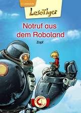 Lesetiger - Notruf aus dem Roboland