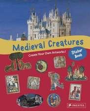 Medieval Creatures Sticker Book