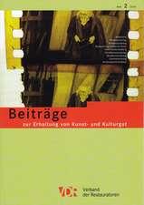 Vdr-Beitrage Zur Erhaltung Von Kunst- Und Kulturgut, Heft 2/2014:  Heft 2/2014