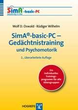 SimA®-basic-PC - Gedächtnistraining und Psychomotorik