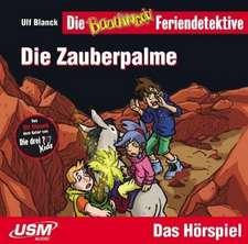Die Feriendetektive: Die Zauberpalme (Audio-CD)