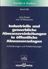 Industrielle und gewerbliche Abwassereinleitungen in öffentliche Abwasseranlagen