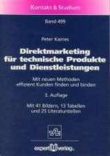 Direktmarketing für technische Produkte und Dienstleistungen