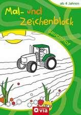 Bauernhof Mal- und Zeichenblock