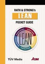 Rath & Strong Mangagement Consultants - Lean Pocket Guide