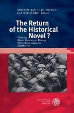 The Return of the Historical Novel?