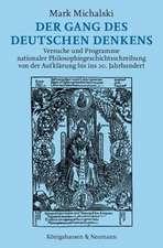 Der Gang des deutschen Denkens