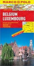 Belgium/Luxembourg Map