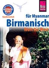 Reise Know-How Sprachführer Birmanisch für Myanmar - Wort für Wort (Burmesisch)