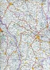 Reise Know-How Landkarte Rumänien, Moldau 1 : 600.000
