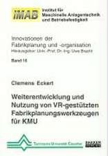Weiterentwicklung und Nutzung von VR-gestützten Fabrikplanungswerkzeugen für KMU