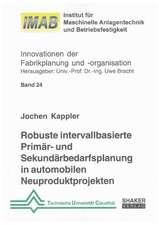 Robuste intervallbasierte Primär- und Sekundärbedarfsplanung in automobilen Neuproduktprojekten
