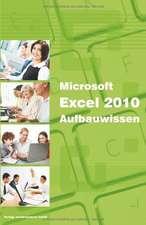 Microsoft Excel 2010 Aufbauwissen