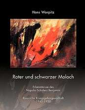Roter Und Schwarzer Moloch:  The Immeasurable Equation. the Collected Poetry and Prose