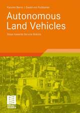 Autonomous Land Vehicles: Steps towards Service Robots