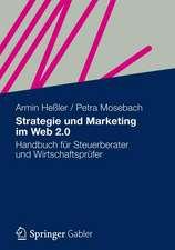 Strategie und Marketing im Web 2.0: Handbuch für Steuerberater und Wirtschaftsprüfer
