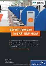 Berechtigungen in SAP ERP HCM