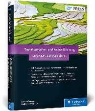 Transformation und Konsolidierung von SAP-Landschaften