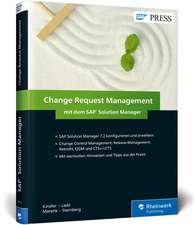 Change Request Management mit dem SAP Solution Manager