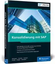 Konsolidierung mit SAP