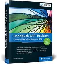Handbuch SAP-Revision