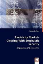 Electricity Market-Clearing With Stochastic Security