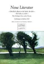 Neue Literatur: Anthologie im Herbst 2010