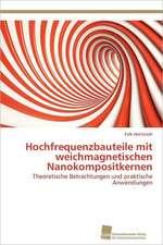 Hochfrequenzbauteile Mit Weichmagnetischen Nanokompositkernen:  Trimerbildung & Funktion