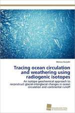 Tracing Ocean Circulation and Weathering Using Radiogenic Isotopes:  Kontrolle Durch Kir-Genotyp Und HLA-Polymorphismus
