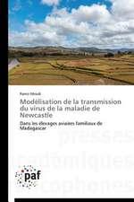 Modélisation de la transmission du virus de la maladie de Newcastle