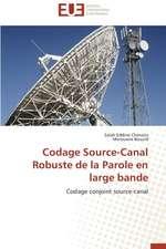 Codage Source-Canal Robuste de La Parole En Large Bande