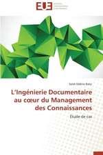 L Ingenierie Documentaire Au C Ur Du Management Des Connaissances:  Un Duel de Perspectives