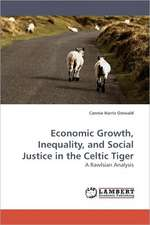 Economic Growth, Inequality, and Social Justice in the Celtic Tiger