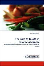 The role of folate in colorectal cancer