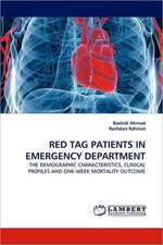 Red Tag Patients in Emergency Department