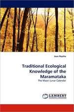 Traditional Ecological Knowledge of the Maramataka