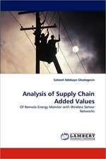 Analysis of Supply Chain Added Values
