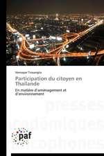 Participation du citoyen en Thaïlande