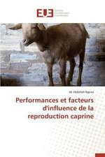 "Performances Et Facteurs D'Influence de La Reproduction Caprine:  ""Hemodya"""