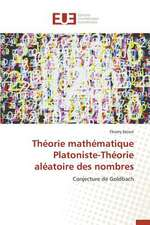 Theorie Mathematique Platoniste-Theorie Aleatoire Des Nombres:  Essai de Modelisation Pour La Bceao