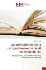 Les Competences de La Comprehension de L'Ecrit En Classe de Fle:  Cas Du Togo