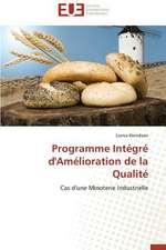 Programme Integre D'Amelioration de La Qualite