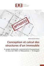 Conception Et Calcul Des Structures D'Un Immeuble:  Cas Du Service Abr