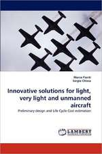 Innovative solutions for light, very light and unmanned aircraft